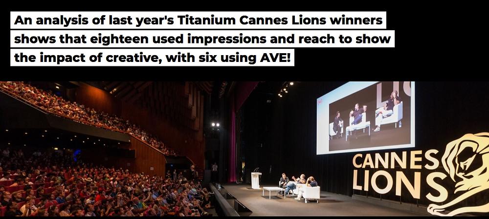 An analysis of Cannes Lions winners