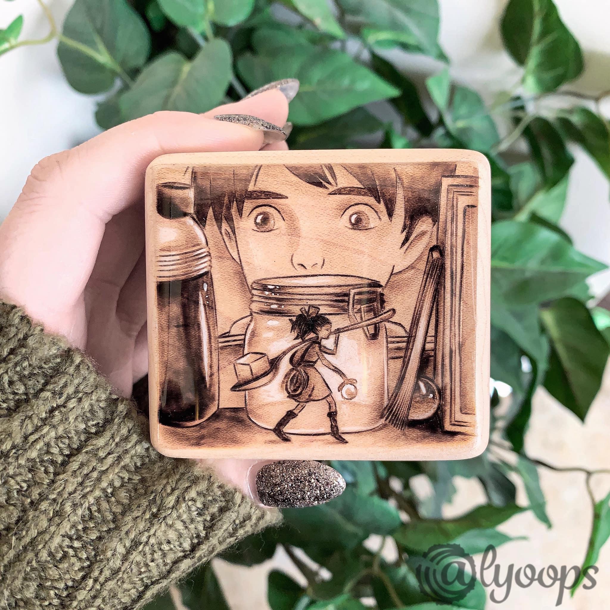 Secret World of Arrietty Music Box