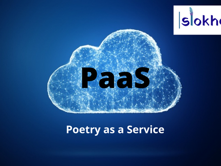 What is PaaS - Poetry as a Service?