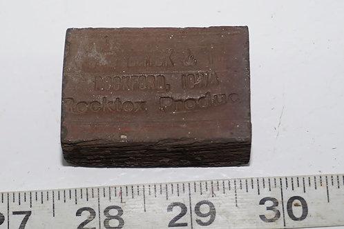 Rocktex Advertising Brick