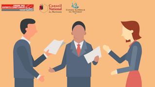 EC | Notaires, avocats et experts-comptables proposent une définition de la holding animatrice.