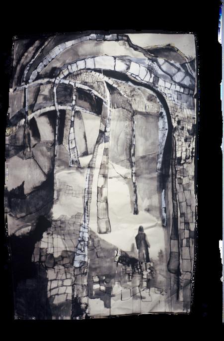 Notre Dame walk, 2005