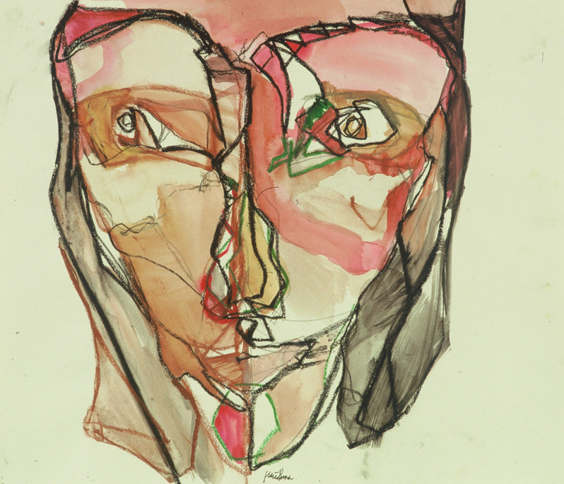 Self-portrait; this girl is bright, 2001