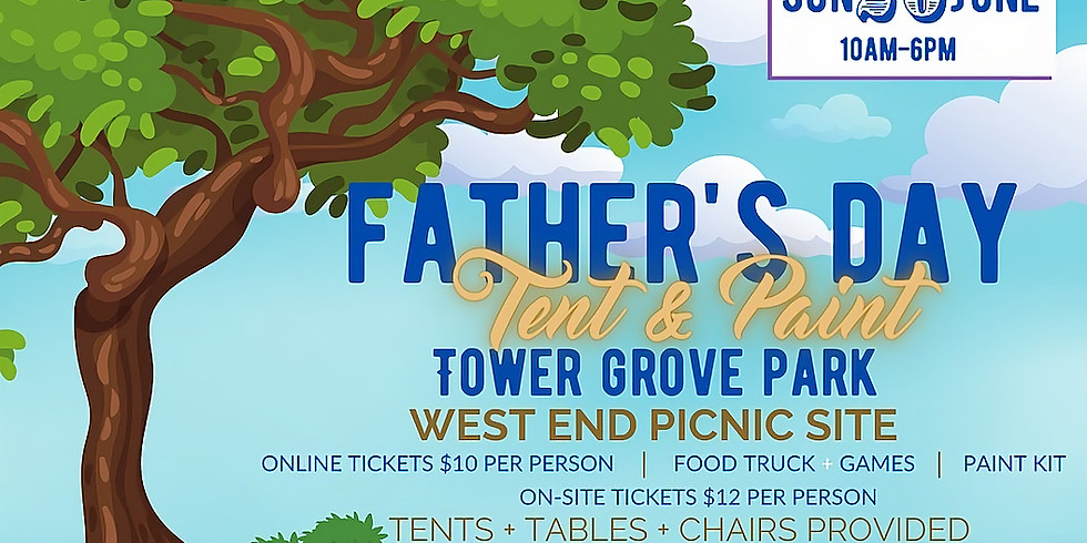 Father's Day Tent & Paint
