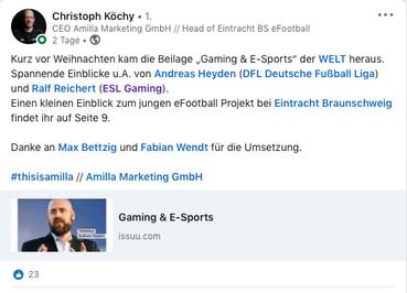 Repost - Eintracht Frankfurt e-Sport