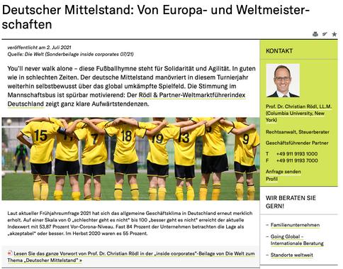 Rödl & Partner Homepage