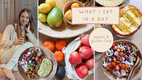 What I eat in a day   Vegan & Gluten Free