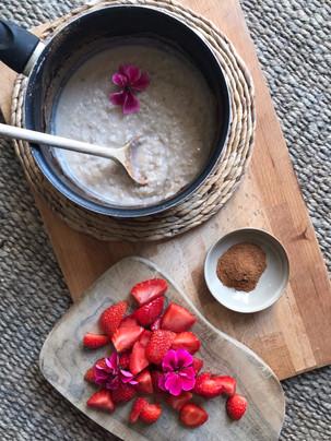 Strawberrie oats