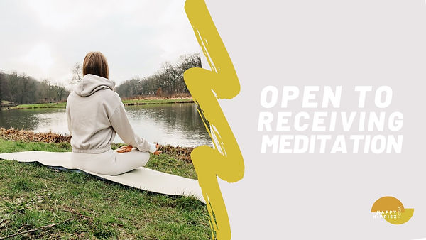 02. Open to receiving meditation Thumbna