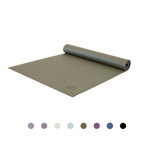 Dark Green Yoga Mat Love Generation, 4 mm