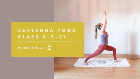Ashtanga Yoga class | 40 min