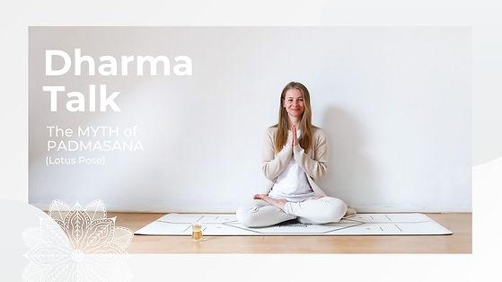 13. Dharma Talk - Myth of Padmasana Thum
