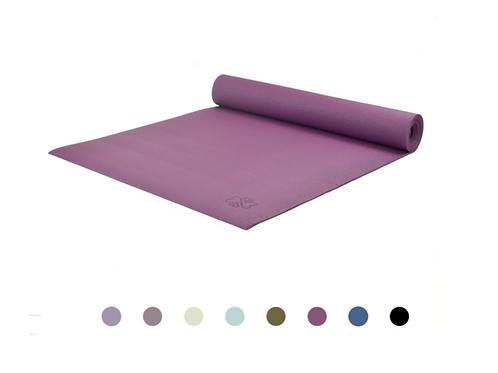 Eggplant purple Yoga Mat Love Generation, 6 mm