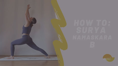 How To Surya Namaskara B - Thumbnail BLA