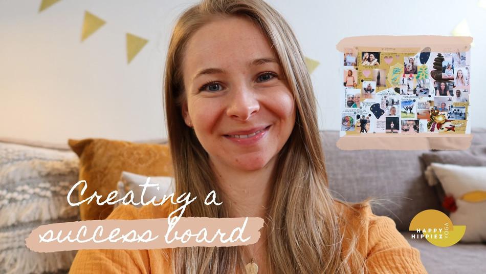 Creating a success board