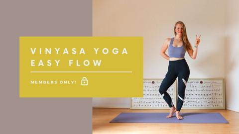 Vinyasa / Easy Flow class | 60 min