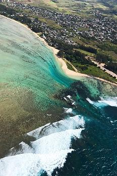 Birds view, Mauritius