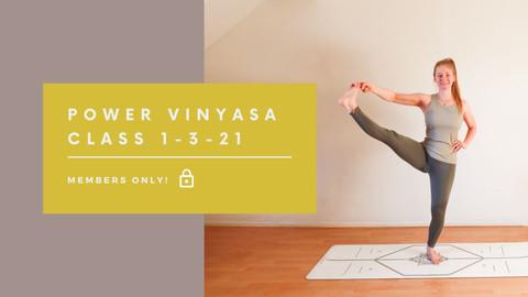 Power Vinyasa class | 40 min