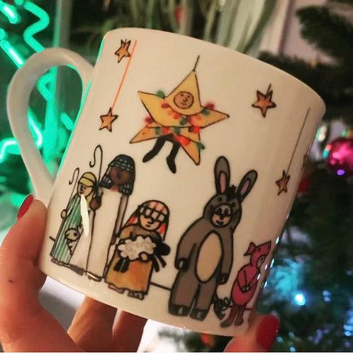 Nativity Play Mug