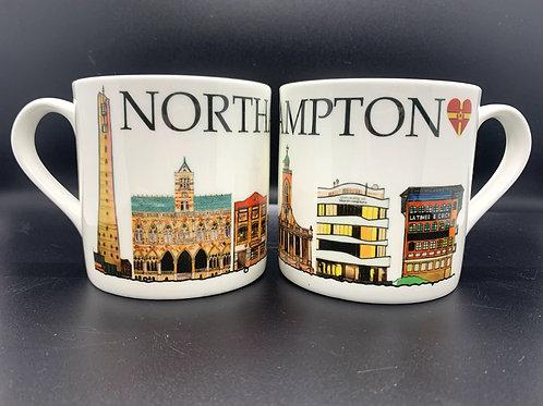 Northampton Landmark Mug