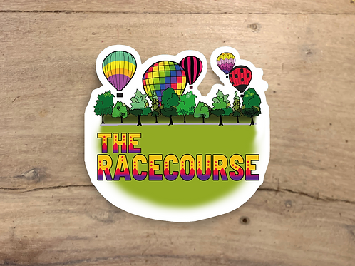 Racecourse Die Cut Sticker