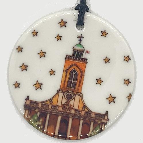 All Saints Ceramic Ornament