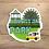 Thumbnail: Abington Park Die Cut Sticker