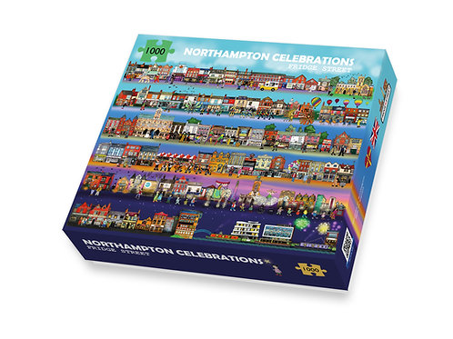 Northampton Celebrations Jigsaw Puzzle