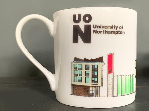 University of Northampton Mug