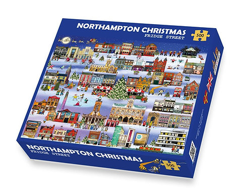 PRE-ORDER Northampton Christmas Jigsaw Puzzle