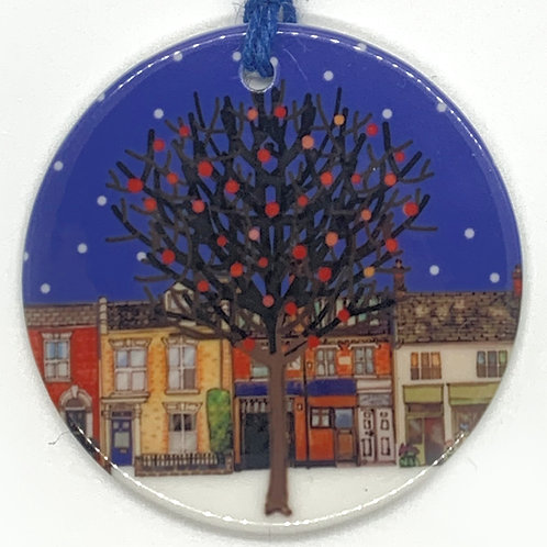 Save our Street Trees Ceramic Ornament