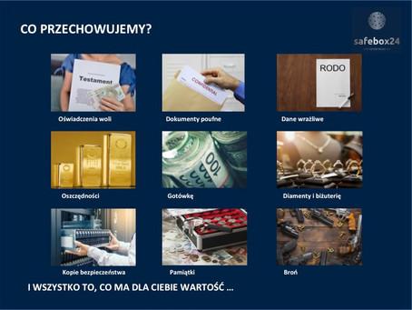 Co można przechowywać w skarbcu Safebox24?