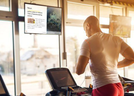 Het gebruik van Narrowcasting in de sport- en fitnesscentra!