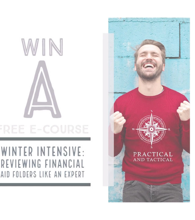 sweepstakes promotion for financial aid client