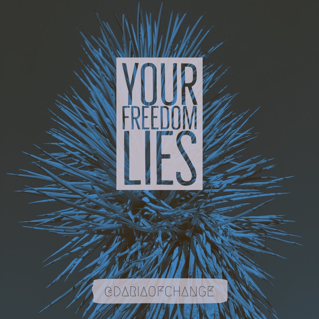 your freedom lies ||| daria of change
