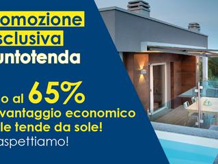 FINO AL 65% DI VANTAGGIO ECONOMICO CON PUNTO TENDA!