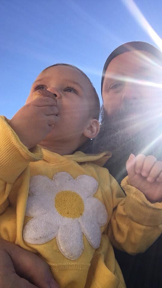 baby and sunshine