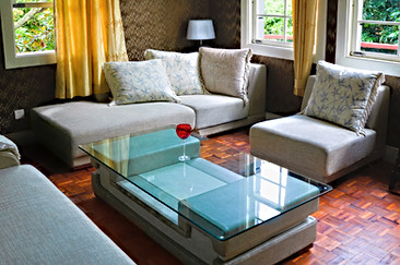 Living Room Glass Table-Top