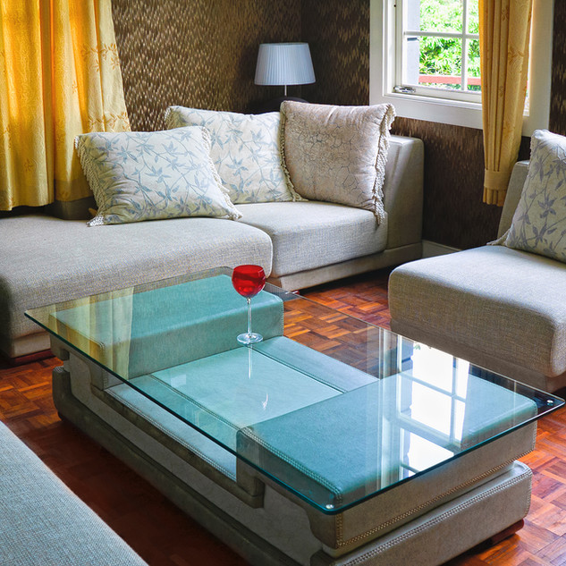 Living room with Coffee table