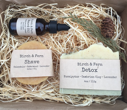 Beard & Body Gift Box