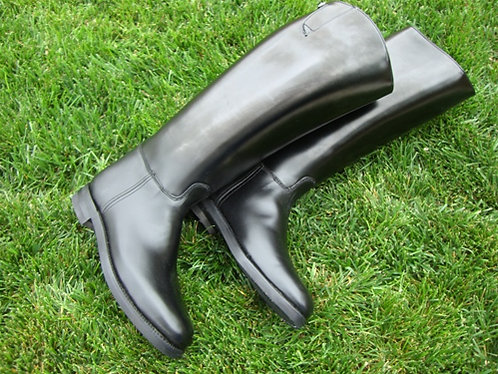 Dehner Motor Boot, Dress Instep, Buckle Top