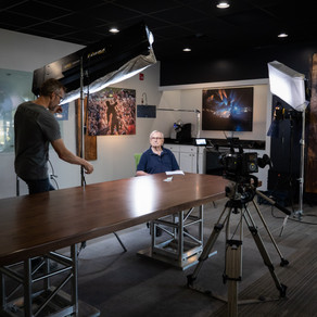 Member Highlight: Kent Rich Transforms Conference Room Into Studio