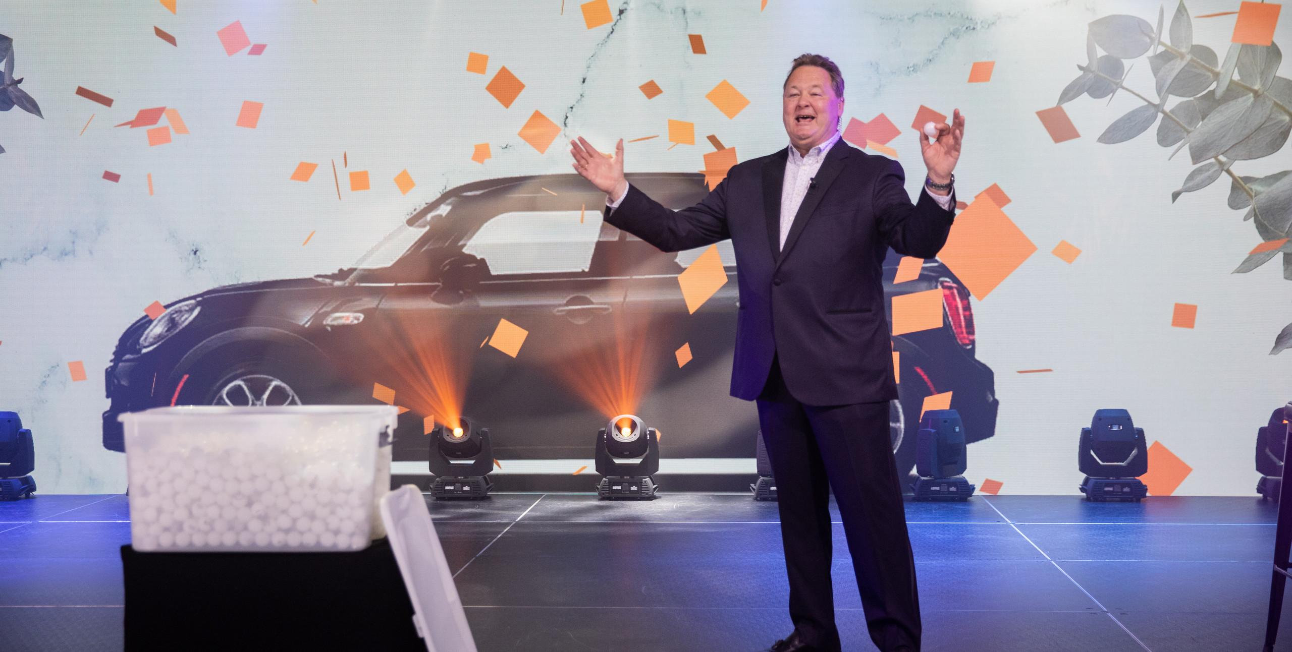 Riverview School's virtual gala's car give away