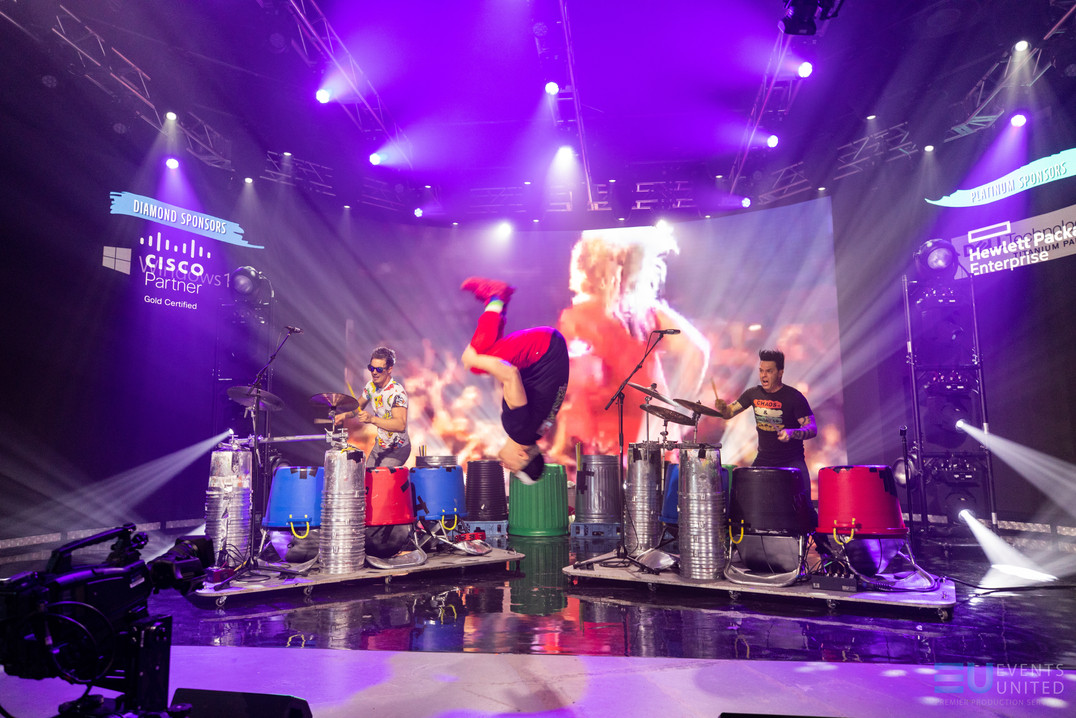 virtual studio, livestream, virtual event, event production, event, led wall, video wall, studio, derry nh, new hampshire, concert, virtual concert, recycled percussion