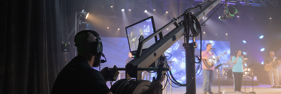 virtual production, creative, professional, rental, jib, camera operator, gear