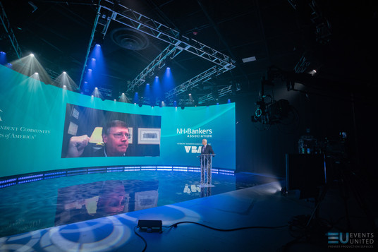 virtual studio, livestream, virtual event, event production, event, led wall, video wall, studio, derry nh, new hampshire