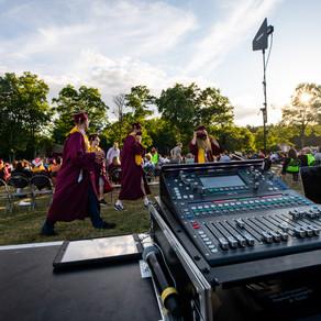 Alvirne High School Outdoor Graduation
