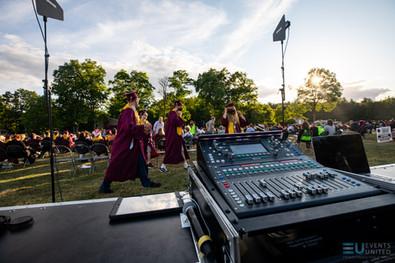 Alvirne 2020 High School Graduation with Events United soundboard