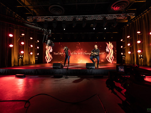 Girls Inc. Raises $175,000 with AV Assist from Events United and Chauvet F2 Video Panels