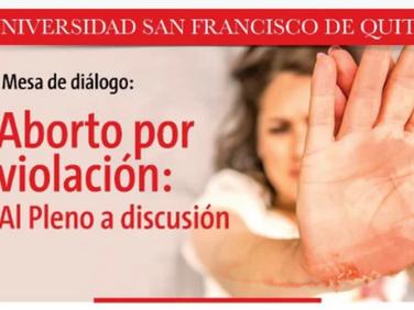 Aborto por violación, al pleno a discusión